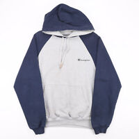 CHAMPION  Grey Sports Pullover Hoodie Mens S