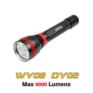 Archon WY08 DY02 Scuba Diving Light Underwater 4000 Lumens Flashlight Torch