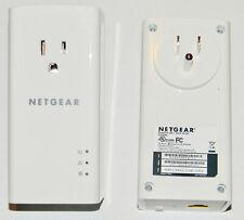 Netgear Powerline 1200 Mbps PLP1200-100PAS Gigabit Ethernet Adapter +Extra outle