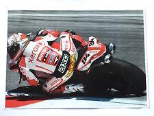 Michel Fabrizio Unsigned Xerox Ducati Poster Rare 2.