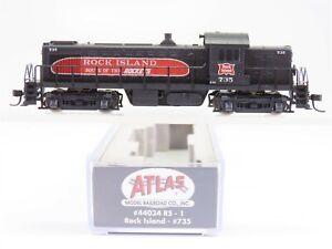 N Scale Atlas 44034 RI Rock Island Alco RS-1 Diesel Locomotive #735