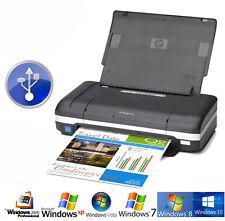 Reisedrucker Imprimante Mobile USB HP DJ470 Réseau + Batterie 4800dpi 17S / Min