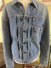 Rare Levi's 201 Special edition Type II Denim Trucker Jacket Medium