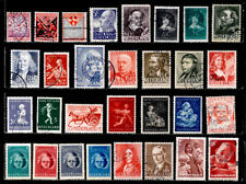 NETHERLANDS: CLASSIC ERA - 1950'S STAMP COLLECTION SEMI POSTALS