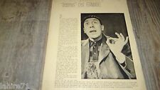 fernandel REGAIN ! marcel pagnol  rare dossier presse cinema 1937