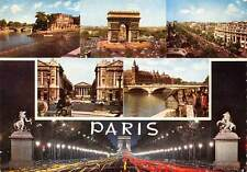 France Souvenir de Paris Panorama Arch Statues Voitures Cars Bridge Pont