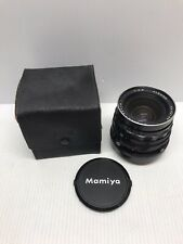 Mamiya Sekor C 50mm F4.5 Wide Angle Lens For RB67 Pro S SD - With Leather Case