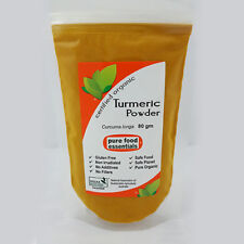 Turmeric Powder (80g) - Certified Organic by NASAA / Pure Food Essentials