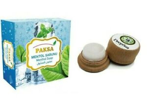 Menthol Massage Stone rub & Soap pain relief headache soothing DeepSea UK
