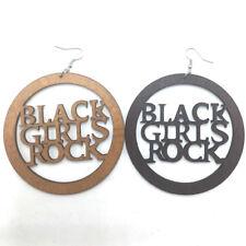 BLACK GIRLS ROCK,  Dangle Earrings...........2 Colours