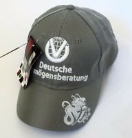 NEW Silver F1 FORMULA ONE 1 MICHAEL SCHUMACHER  Dvag HAT CAP (Not For Sale) Tag
