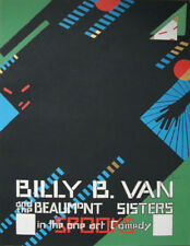IANNELLI - BILLY B VAN - silk screened in 1968 after an original gouache of 1915