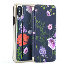 Ted Baker® CHERYIN Mirror Case with outer Card Slot for iPhone X/XS- Hedgerow