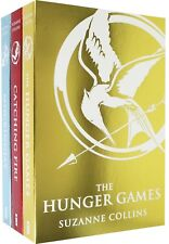 Hunger Games Trilogy Collection 3 Books Set Pack Suzanne Collins Foil Edition