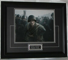 A1044AG ANDREW GARFIELD SIGNED 'HACKSAW RIDGE' FRAMED GUARANTEED AUTHENTIC