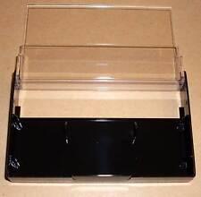 5 Kassettenhüllen Leerhüllen für Cassetten MCs Hüllen schwarz Kassetten Case Neu