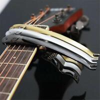 Kapodaster Capodaster Kapo Capo Elektro Akustik für Gitarre Guitar Clamp 3 Farbe