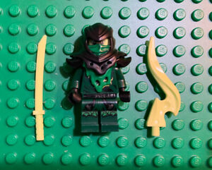 LEGO Lloyd Possessed Minifigure - Ninjago - Evil Green Ninja - 70736 70732 Morro