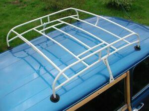 Morris Leyland Mini Minor Cooper S Vintage Classic Roof Rack Off White