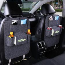 2X Rücksitztasche Rückenlehnentasche Rückenlehnenschutz Auto Tasche Schutzfolie