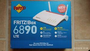 AVM FRITZ!Box 6890 LTE Drahtloser Router - Weiß