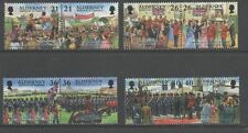 GB Alderney 2000 Garrison Island 4th series SGA154-161 unmounted mint set stamps