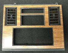 1984-85 Cadillac Eldorado & Seville Woodgrain Dash Radio Surround    #66