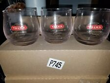 New listing Talea Amaretto . Italian Cream Liqueur Glasses.Set Of 6 Glasses.Rare.