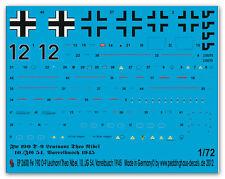 1/72 decals per una FW 190 D -) LT. Theo Nibel 2600
