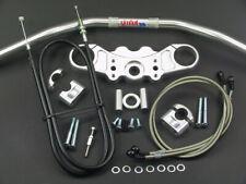 Abm Superbike Lenker-Kit Kawasaki ZX-9 R (ZX900E) 00-01 Argento
