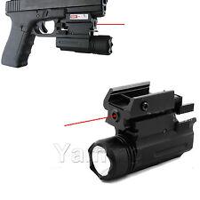 Cree Flashlight &Laser sight for Handgun-fits H&K,M&P,Smith,Glock,viridian,xdm