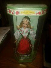 Barbie Dolls of the World - Swedish Barbie Mattel 1999 MIB