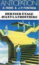 A.Paris & Fontana Dernier Etage avant  FNA 1323 TBE