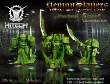 Hitech Miniatures - 28SF004 Iron Chancellor Percivall Inferno Warhammer 40k