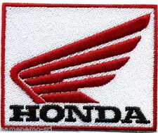 Toppa ricamata patch termoadesiva logo marchio HONDA  cm. 8 x 6,5