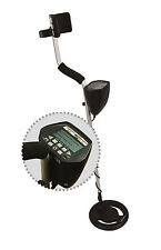 Metal Detector w/ 9V battery Headphone Carry Bag LCD Display US Warranty Free SH