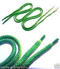 Paire de Lacets vert all star converse vans nike air jordan Dc shoes etc !!!