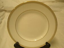 Wedgwood Martha Stewart Collection Ribbon Stripe Gold Salad Dessert Plate  New