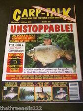 CARP TALK #361 - ESSEX CARPING SECRETS - JUNE 30 2001