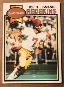 Joe Theismann 1979 Topps Card #155, NM (BIGJ'S) Washington Redskins