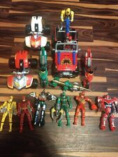 Power Rangers Mystic Force Vehicle And Figure Lot