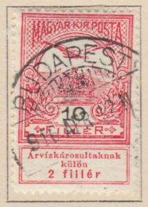Ungarn Hungary Semi-Postal 1913 10f Used A18P32F520