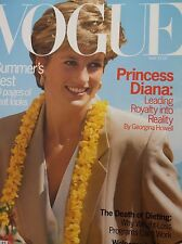 VOGUE MAGAZINE MAY 1993 PRINCESS DIANA excellent condition LIKE NEW!!