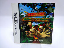 Guide-Manuel-Mode d'emploi Nintendo DS-Donkey Kong Jungle Climber
