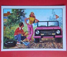 figurines prentjes cromos stickers picture cards figurine barbie 39 panini 1976