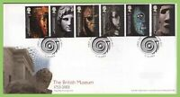 G.B. 2003 British Museum set on Royal Mail u/a First Day Cover, London WC1