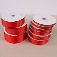10 Yards Red grosgrain Ribbon Wedding Party Decoration Gift Wrapping Sewing