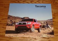 Original 2014 Toyota Tacoma Sales Brochure 14