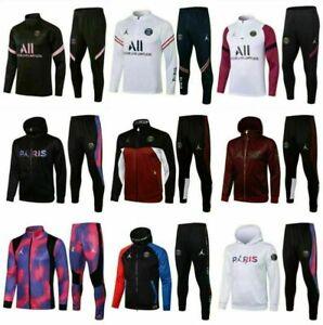 Hauts de survêtement de football pour enfants PSG Football Sportswear pour adult