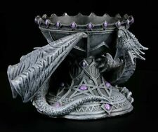 Gorgeous Dragon Crystal ball holder - Dragon Beauty by Anne Stokes